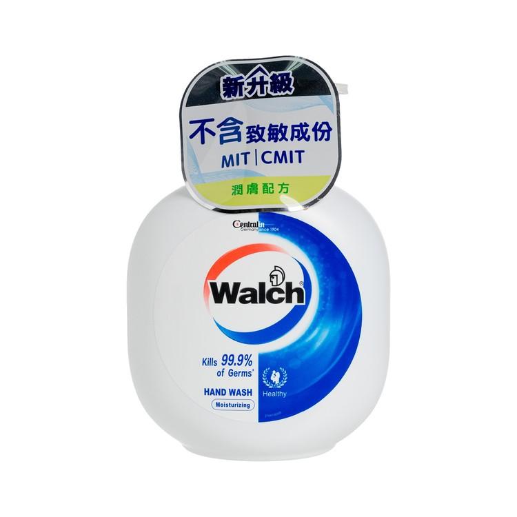 WALCH - HAND WASH GEL-MOISTURIZING-12PCS - 450MLX12