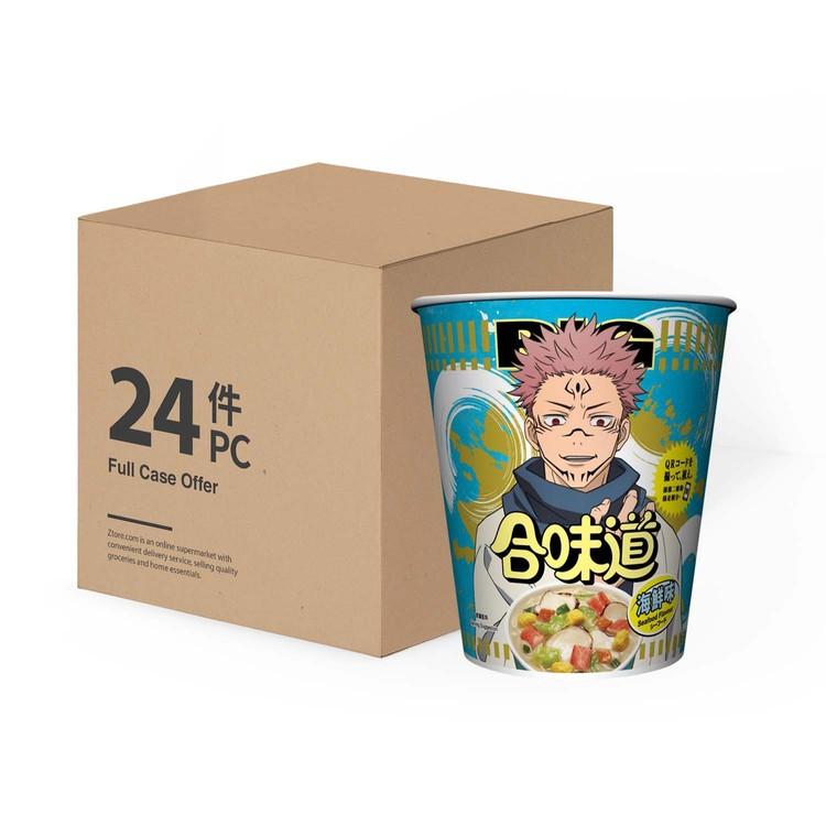 日清 - 合味道大杯麵-海鮮味-原箱 - 100GX24