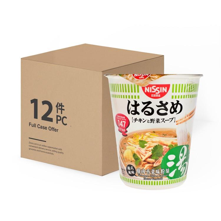 日清 - 春雨粉絲-雞肉香菜味-原箱 - 48GX12