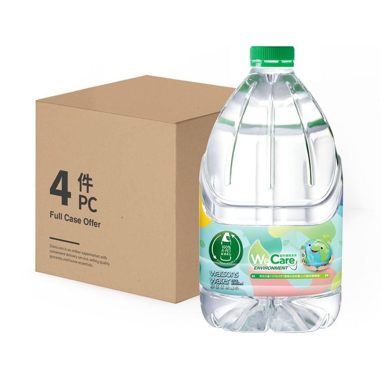 屈臣氏 - 蒸餾水-原箱 - 4.5LX4