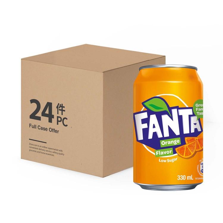 芬達 - 橙汁汽水-原箱 - 330MLX24