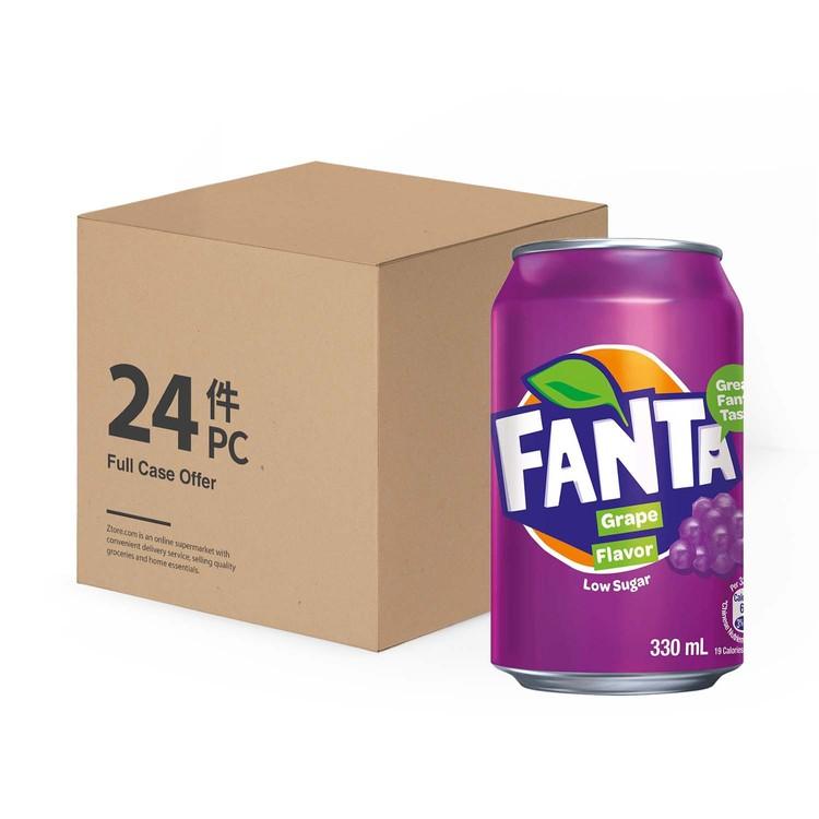 FANTA - GRAPE DRINK - 330MLX24
