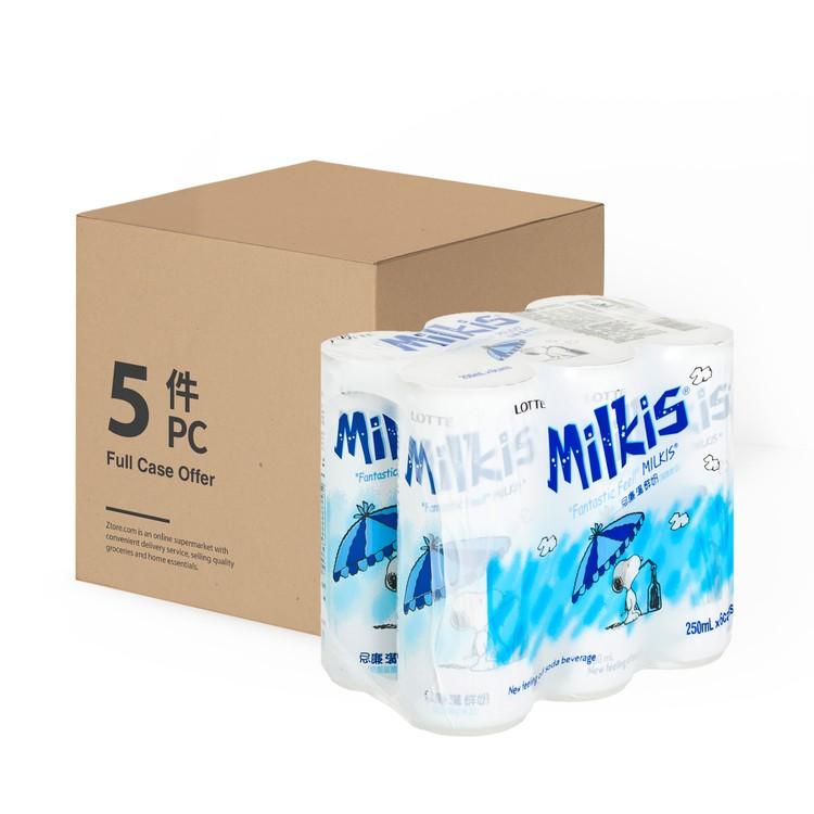 樂天 - 忌廉溝鮮奶-原箱 - 250MLX6X5