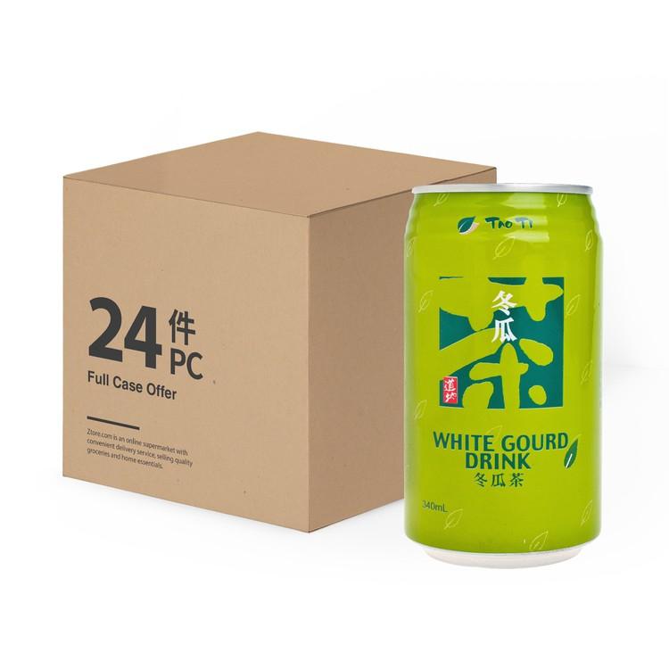 道地 - 台式茶飲-冬瓜茶 -原箱 - 340MLX24