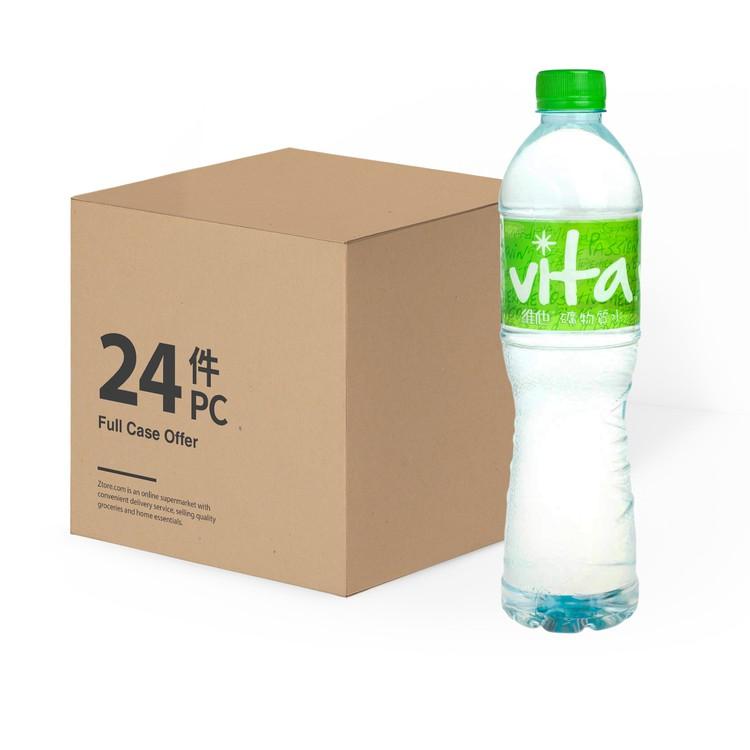 VITA 維他 - 礦物質水-原箱 - 700MLX24