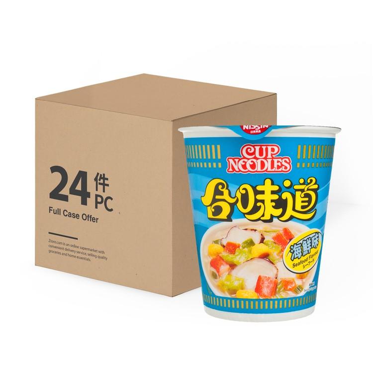 日清 - 合味道杯麵-海鮮味-原箱 - 75GX24