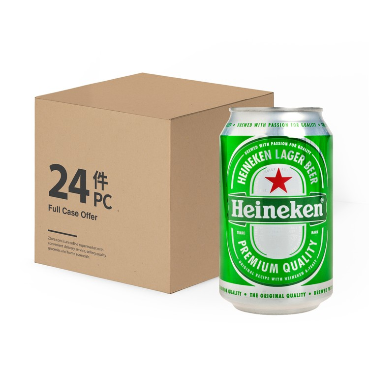 HEINEKEN - BEER CAN-FULL CASE - 330MLX24