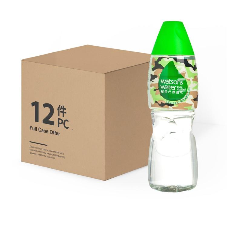 屈臣氏 - 蒸餾水-原箱 - 1.25LX12