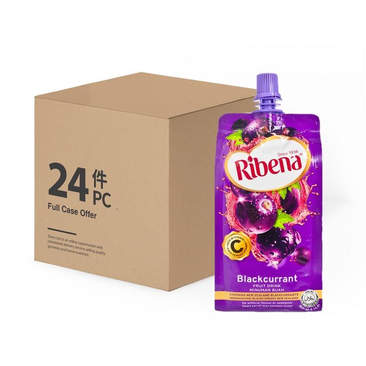 RIBENA - BLACKCURRANT FRUIT DRINK - CASE - 330MLX24