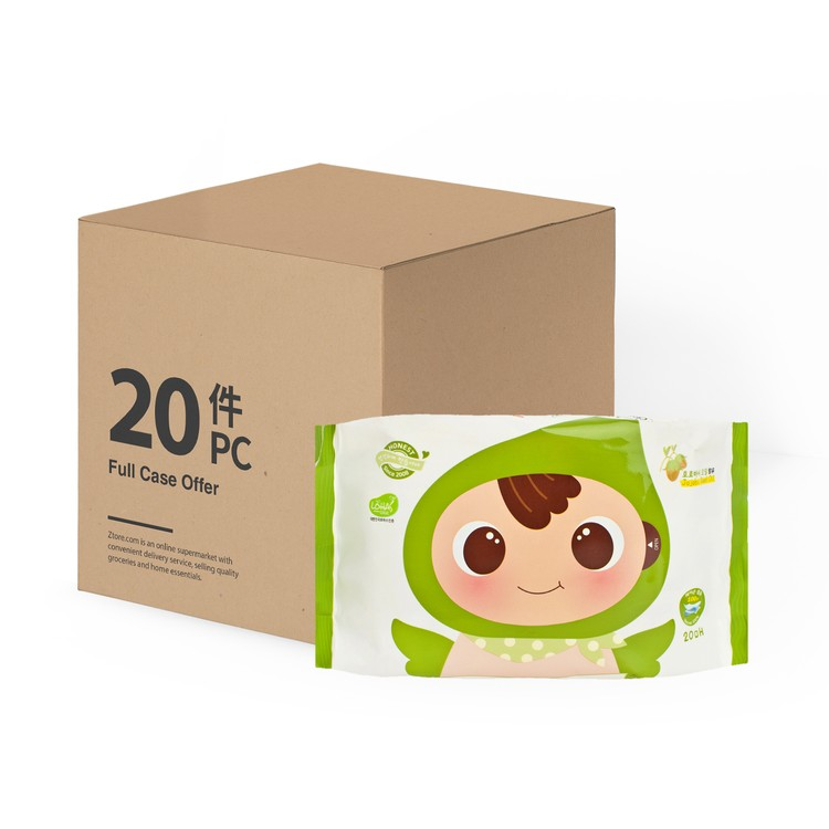 順順兒 - 原箱 頂級嬰兒濕紙巾 - 20'SX20