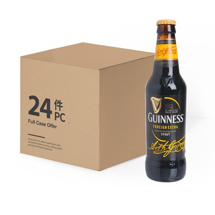 GUINNESS 健力士(平行進口) - 黑啤樽裝-原箱 - 330MLX24