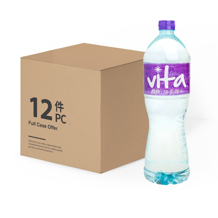 VITA - PURE DISTILLED WATER(CASE) - 1.5LX12