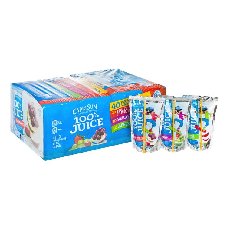 CAPRI SUN - 雜錦包裝果汁-原箱 - 177MLX40