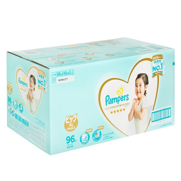 PAMPERS幫寶適 - 日本進口一級幫紙尿片(加大碼) - 箱裝 - 96'S